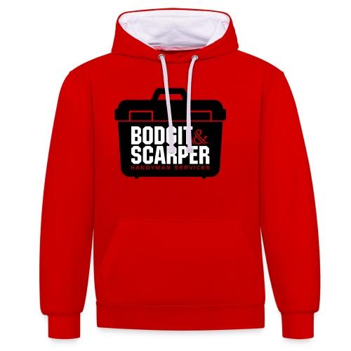 Bodgit & Scarper - Contrast Colour Hoodie