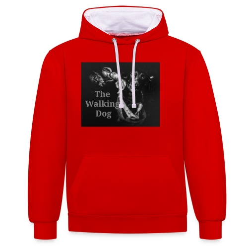 The Walking Dog - Kontrast-Hoodie