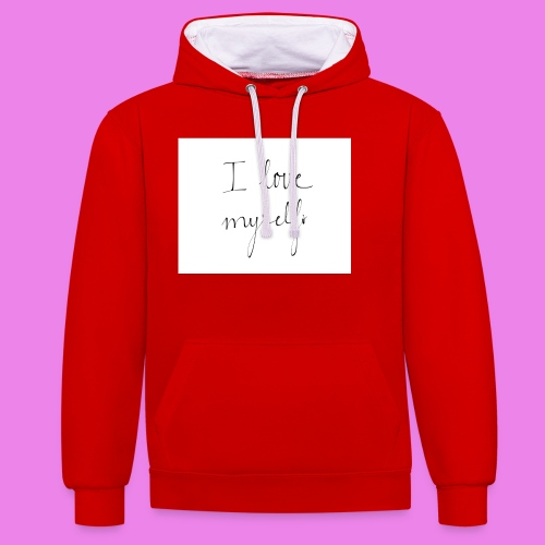 tumblr nhfkg479nQ1u66e4no1 1280 - Contrast Colour Hoodie