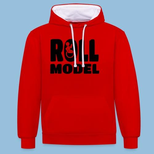 Roll model 016 - Contrast hoodie