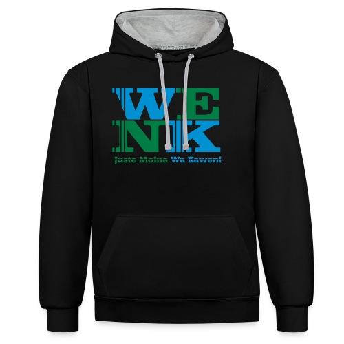WENK - Sweat-shirt contraste