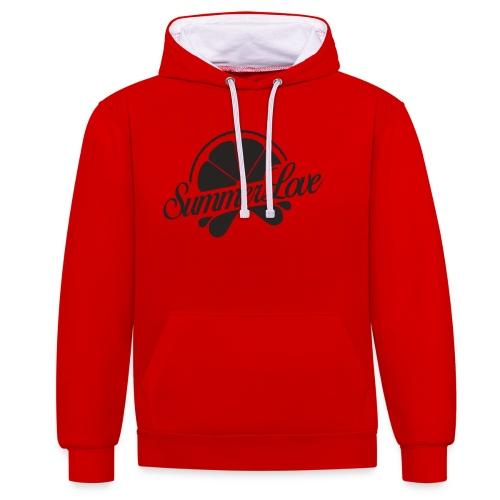 Logo Radio Summer Love - Contrast hoodie