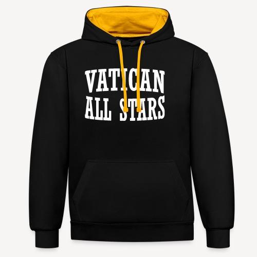 VATICAN ALLSTARS - Contrast Colour Hoodie