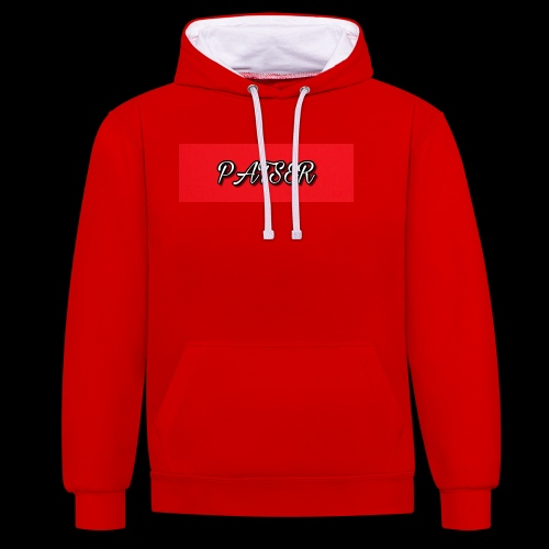 PATSER deluxe - Contrast hoodie