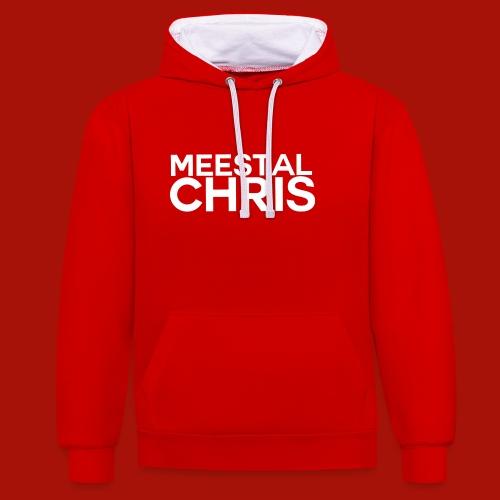 MeestalChris Logo shirt - Contrast hoodie