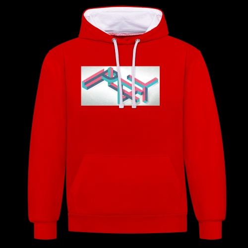 Play Collection - Contrast Colour Hoodie