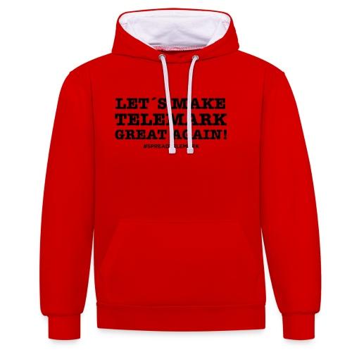 Let´s make telemark great again - Kontrastihuppari