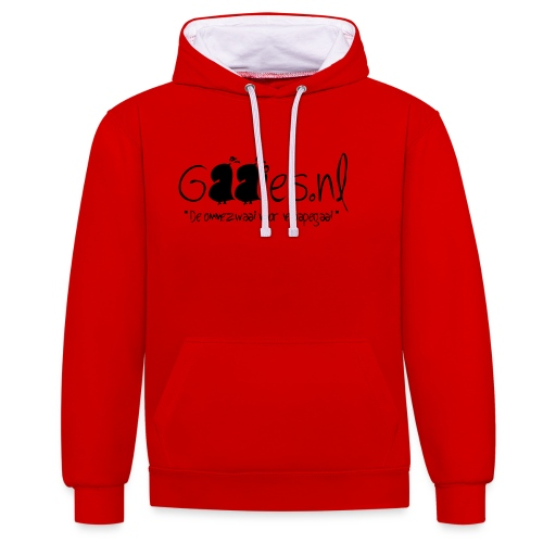 gaaies - Contrast hoodie