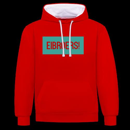 T-shirt Vrouwen - Contrast hoodie
