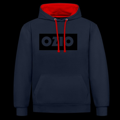 Ozio's Products - Contrast Colour Hoodie