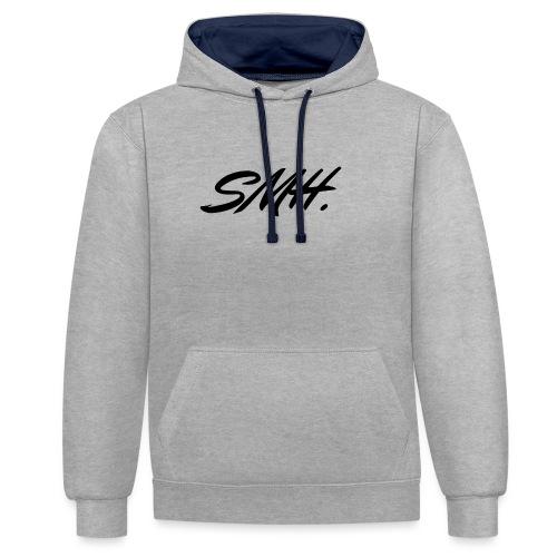 SMH - Sweat-shirt contraste