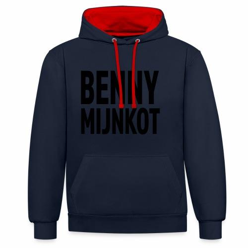 Benny Mijn kot - Contrast hoodie