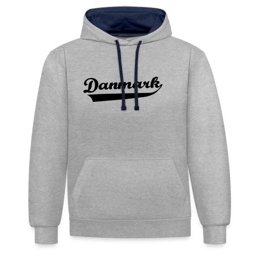 Danmark Swish - Kontrast-hættetrøje