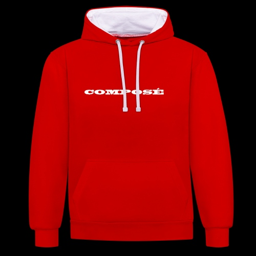 Composé Series 2 - Contrast hoodie