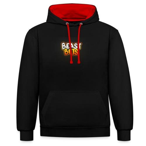 BeastBets - Kontrast-hættetrøje