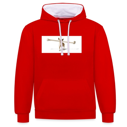 Tough Guy - Contrast hoodie