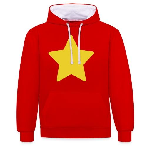 Steven Universe's T-Shirt - Sudadera con capucha en contraste