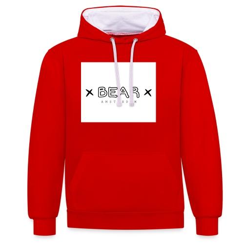 merk BEAR - Contrast hoodie