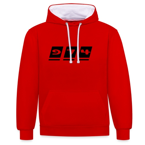 Ecriture 974 - Sweat-shirt contraste