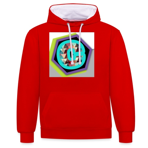 ChromaStreamt Merch Original! - Kontrast-Hoodie