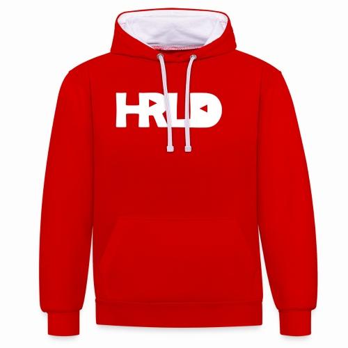 HRLD White Logo - Kontrastihuppari