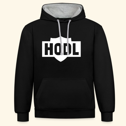 HODL TO THE MOON - Kontrastihuppari