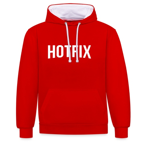 Hotfix - Sweat-shirt contraste