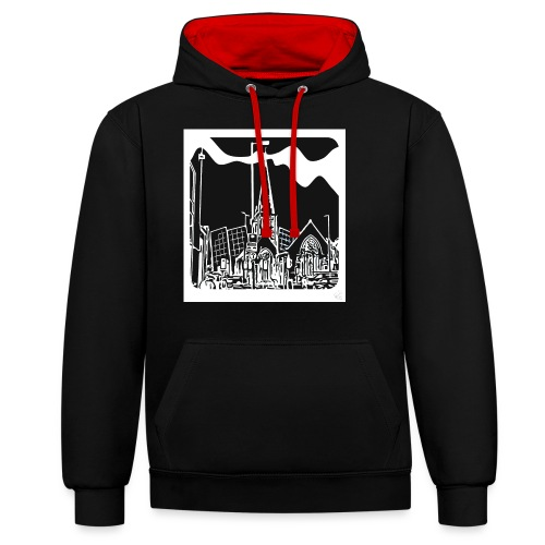 Church iconic - Contrast Colour Hoodie