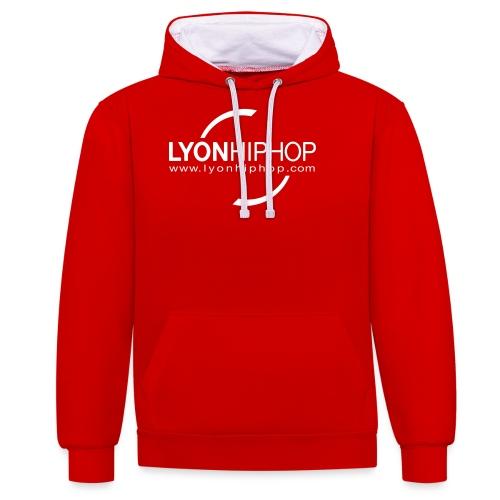 lhhnoir - Sweat-shirt contraste