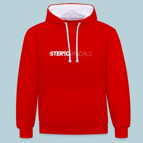 RATWORKS Stereo Vandals W - Contrast Colour Hoodie