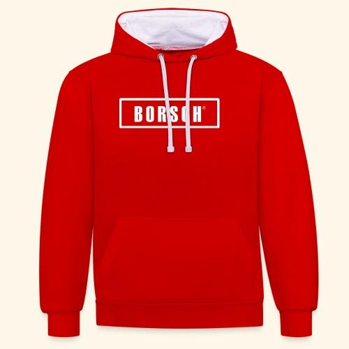 Borsch - Kontrast-hættetrøje
