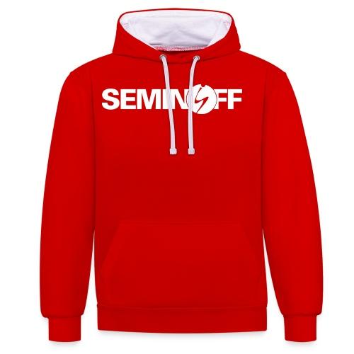 Seminoff plain logo - Kontrastluvtröja