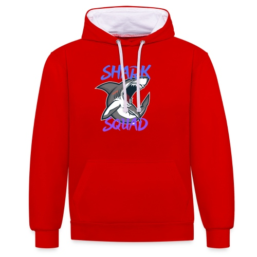 Shark Squad - PowerMEGAL0D0N - Sweat-shirt contraste