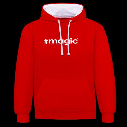 # magic - Kontrast-Hoodie