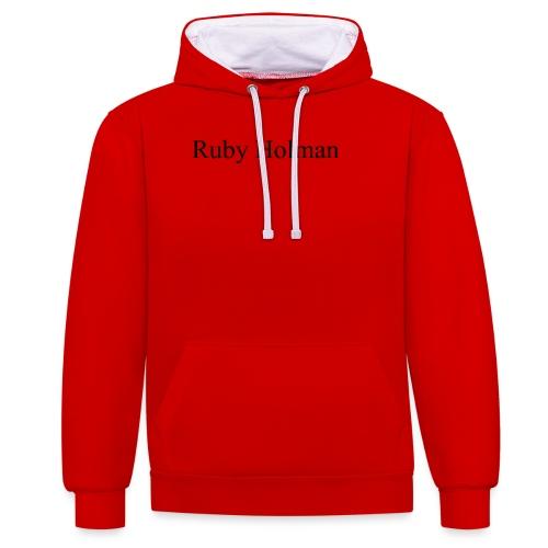 Ruby Holman - Sweat-shirt contraste