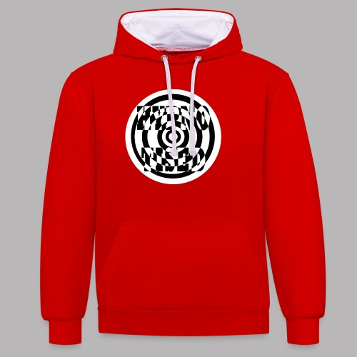 HYPNO-TISED - Contrast Colour Hoodie
