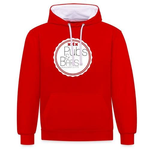 PubsnBars - Contrast hoodie