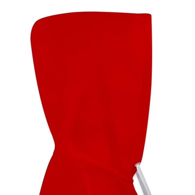 Vorschau: Vorsicht Herrchen - Kontrast-Hoodie
