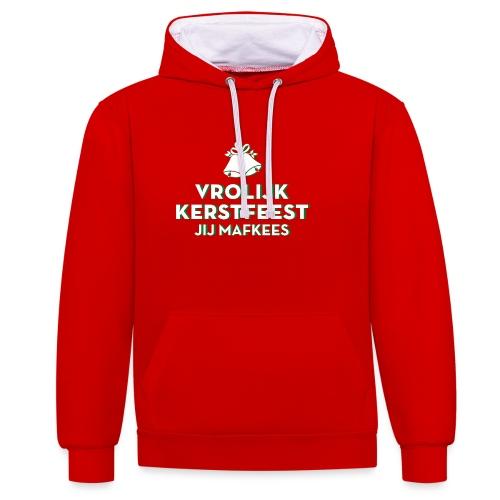 Jij Mafkees - Contrast hoodie