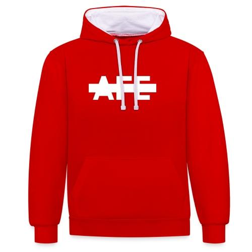 AFE hidden - Kontrast-Hoodie