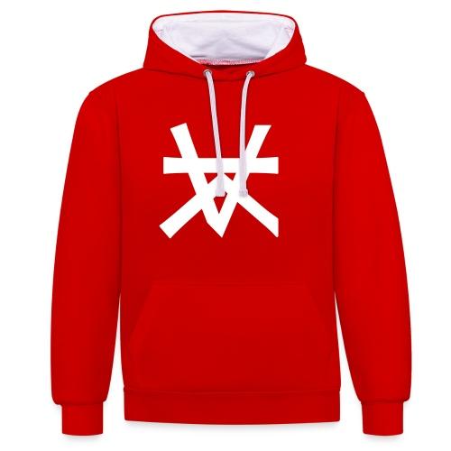 KAIROS LOGO - Contrast hoodie