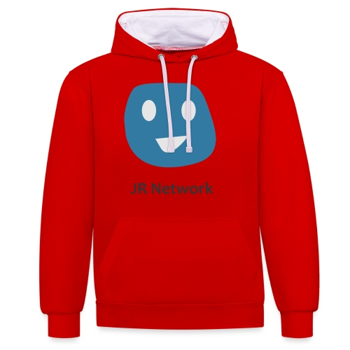 JR Network - Contrast Colour Hoodie