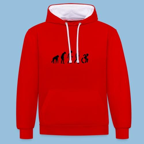EvolutionWheelchair2 - Contrast hoodie