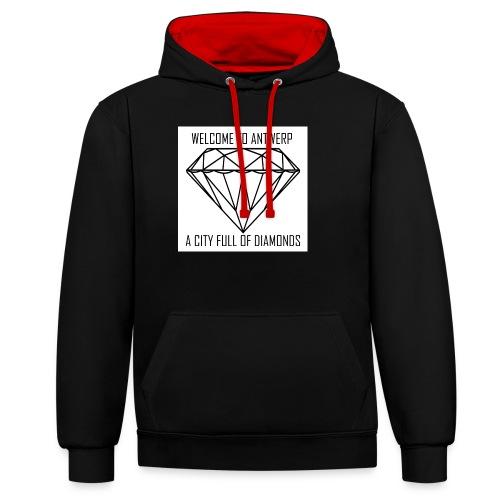 Antwerp lover - Contrast hoodie