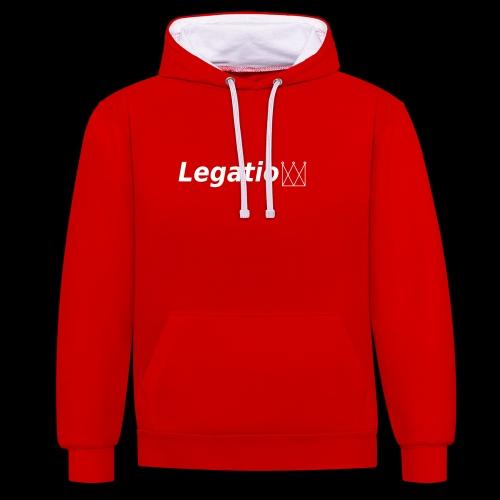 Legatio - Contrast Colour Hoodie