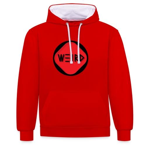 WeirdCylinder Logo - Contrast Colour Hoodie