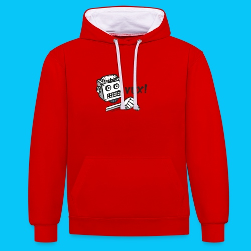 Dat Robot Vux - Contrast hoodie