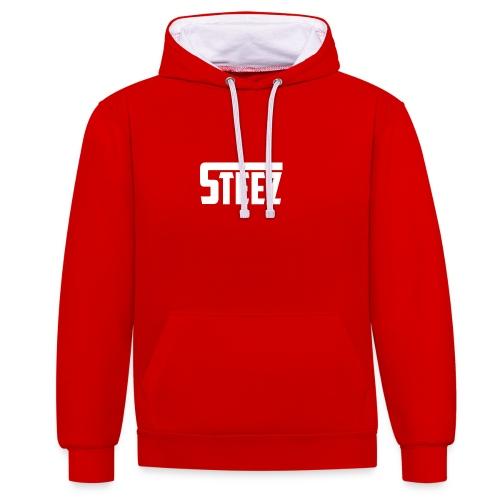 Steez tshirt name - Contrast hoodie