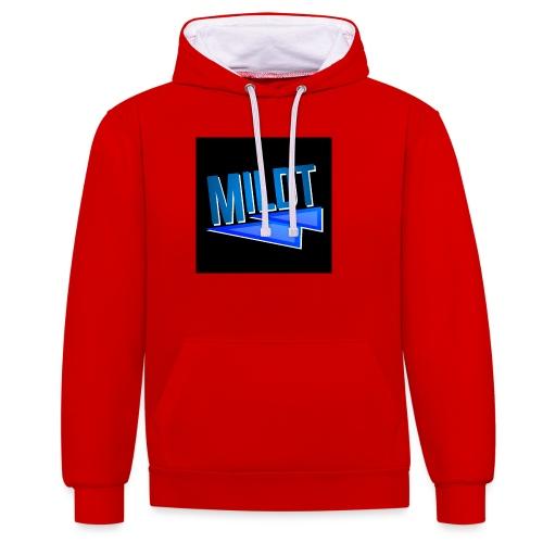 MILDT Muismat - Contrast hoodie