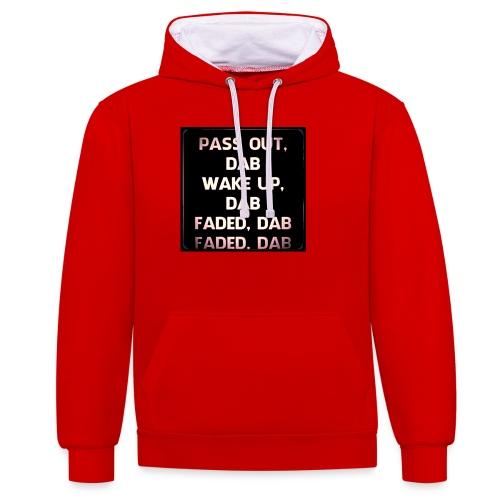DAB - Contrast hoodie